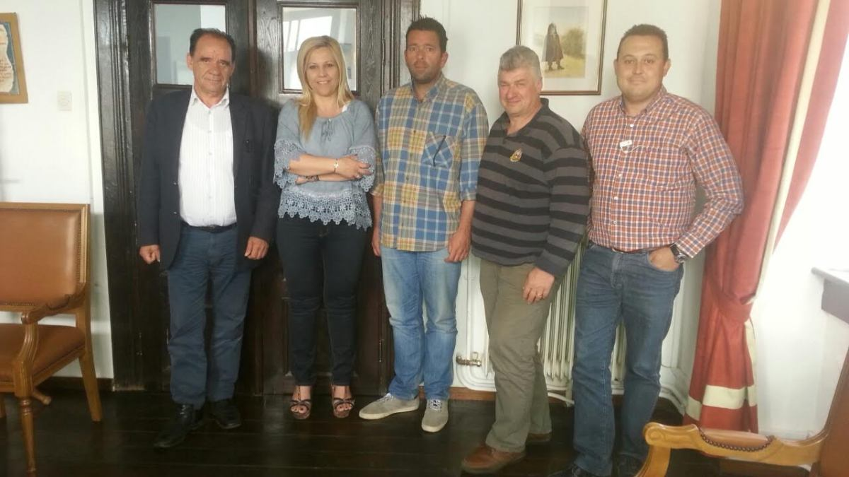 Αποτίμηση των έργων και σχεδιασμός νέων στη συνάντηση Δ.Κολυνδρίνη με το δήμαρχο Ζαγοράς-Μουρεσίου