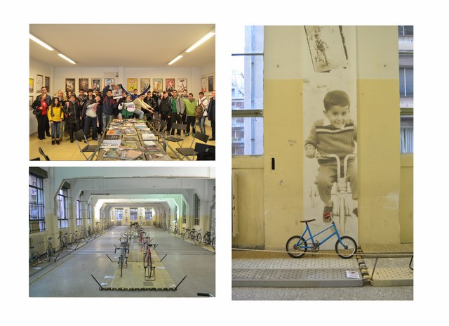 Η έκθεση αποτελεί μια αρχή για τη δημιουργία ενός ποδηλατικού πυλώνα, με μια σειρά δράσεων, εκθέσεων, με συμμετοχικές δράσεις του κοινού και με επίκεντρο το ποδήλατο