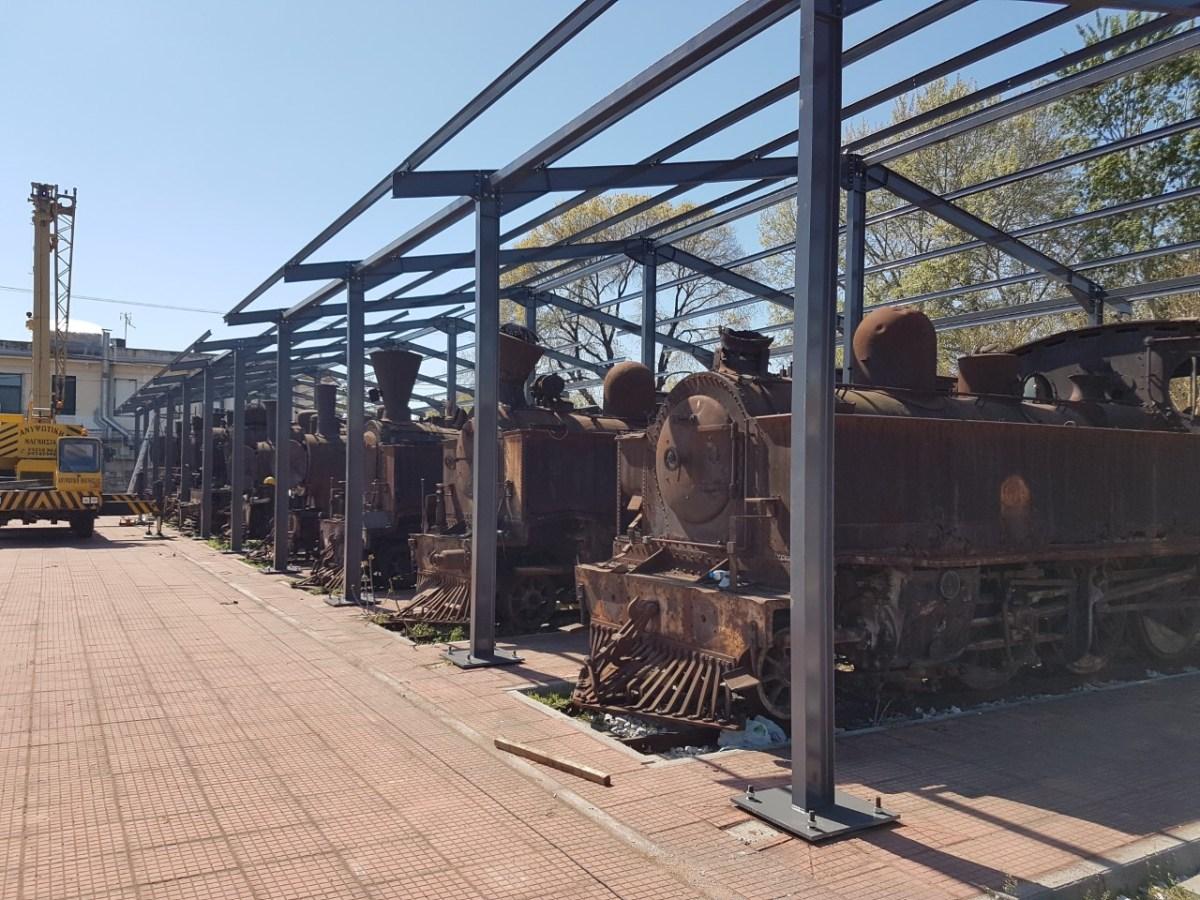 «Υπό την σκέπην» η ιστορία του σιδηροδρόμου στον Βόλο