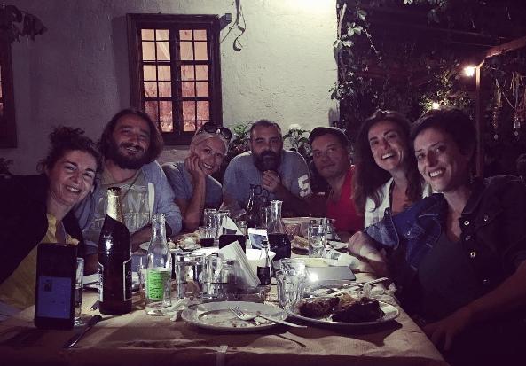Στο Πήλιο για διακοπές η Μαρία Μπακοδήμου και ο Βασίλης Χαραλαμπόπουλος