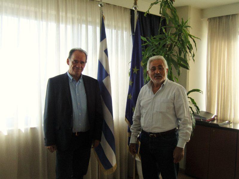 Συνεργασία του Δημάρχου Ζαγοράς με τον Ν. Ντίτορα