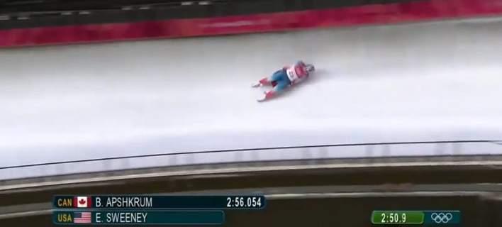 Τρομακτικό ατύχημα Αμερικανίδας στους Χειμερινούς Ολυμπιακούς – Το σοκ της μητέρας της (video)