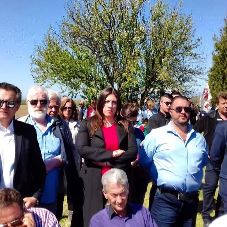 Στο Κιλελέρ η Ζωή Κωνσταντοπούλου και στελέχη της Πλεύσης Ελευθερίας Μαγνησίας
