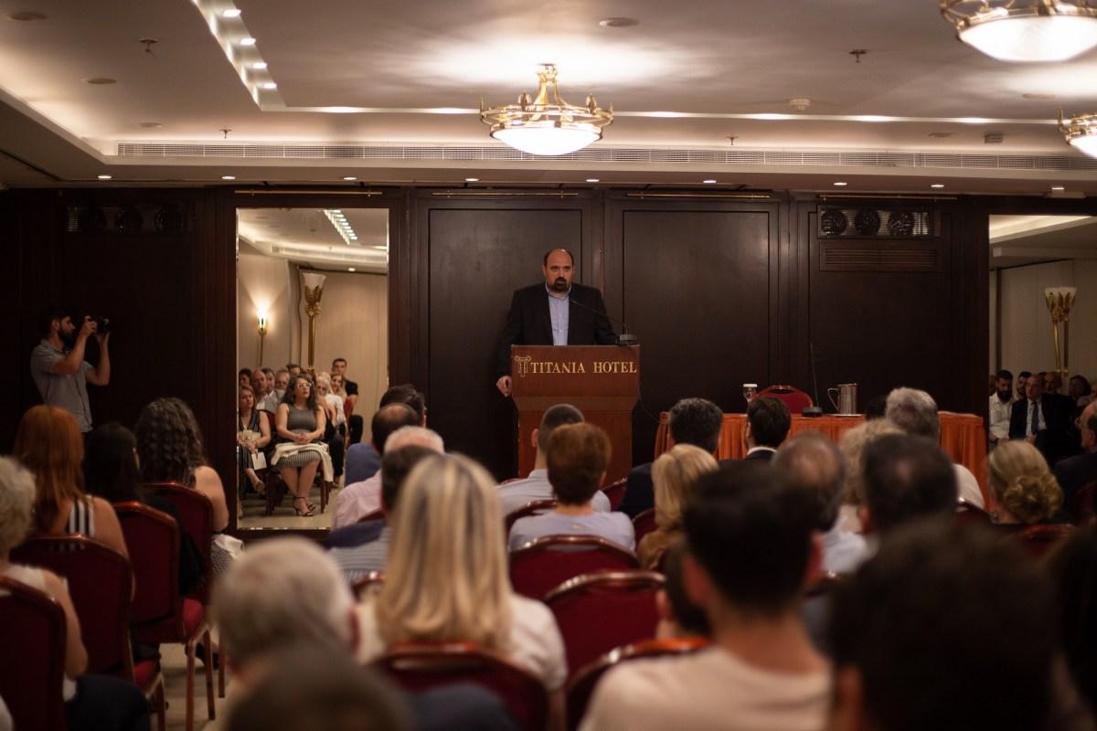 Χρ. Τριαντόπουλος από την Αθήνα: «Η Μαγνησία μπορεί αλλιώς»