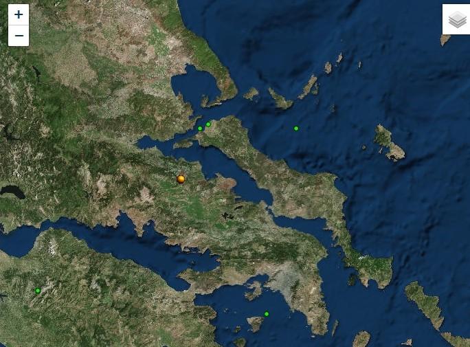 Αισθητός και στη Μαγνησία σεισμός 4,1 Ρίχτερ με επίκεντρο την Αταλάντη