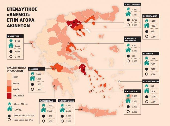 Στα χέρια ξένων κροίσων οι υπερπολυτελείς κατοικίες της Ελλάδας –  Η Μαγνησία στις περιοχές με μεγάλη ζήτηση
