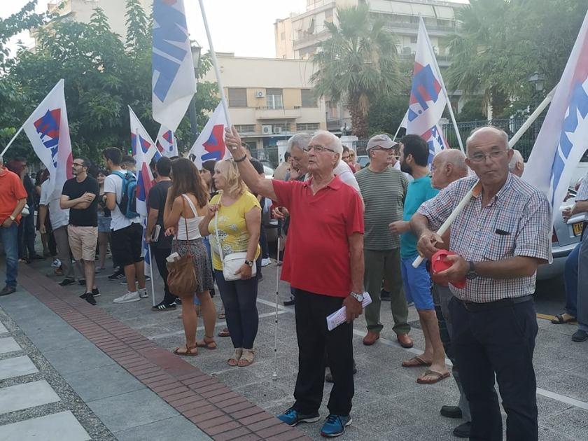 """""""Μολών λαβέ κ. Χρυσοχοΐδη"""" – Διαμαρτυρία συλλόγων και σωματείων ενάντια στο νομοσχέδιο για τις διαδηλώσεις"""