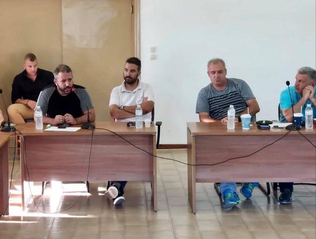 Ο Αλ. Μεϊκόπουλος στο Νότιο Πήλιο για τις ανεμογεννήτριες