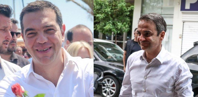 Δημοσκόπηση: Με 18 μονάδες προηγείται η Νέα Δημοκρατία του ΣΥΡΙΖΑ