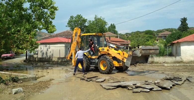 Μεγάλη καταστροφή στα Τρίκαλα – Βούλιαξε στις λάσπες το Ρίζωμα