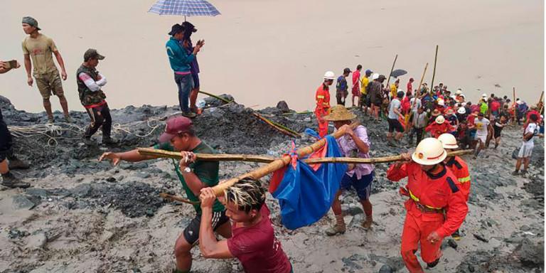 Εκατόμβη νεκρών στην Μιανμάρ: Πάνω από 170 άτομα πέθαναν από την κατολίσθηση λάσπης σε ορυχείο