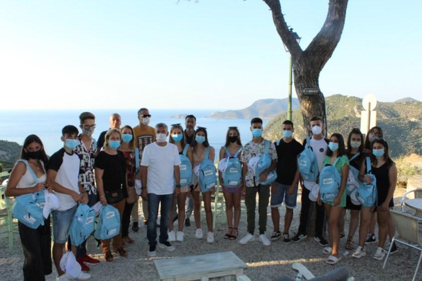Μαθητές σχολείων της Θεσσαλίας στην Αλόννησο για εικονική κατάδυση στο ναυάγιο της Περιστέρας