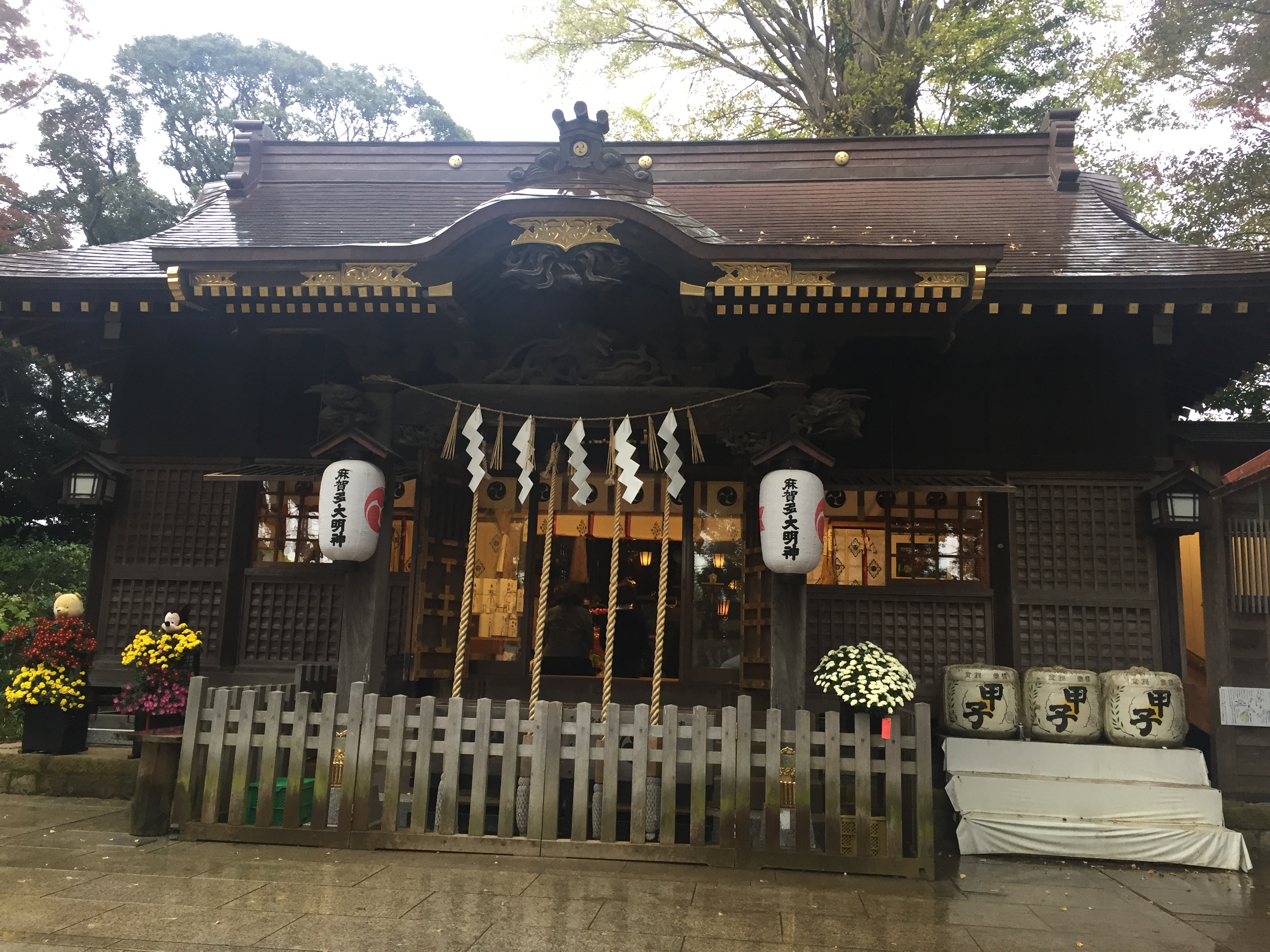 麻賀多神社本殿