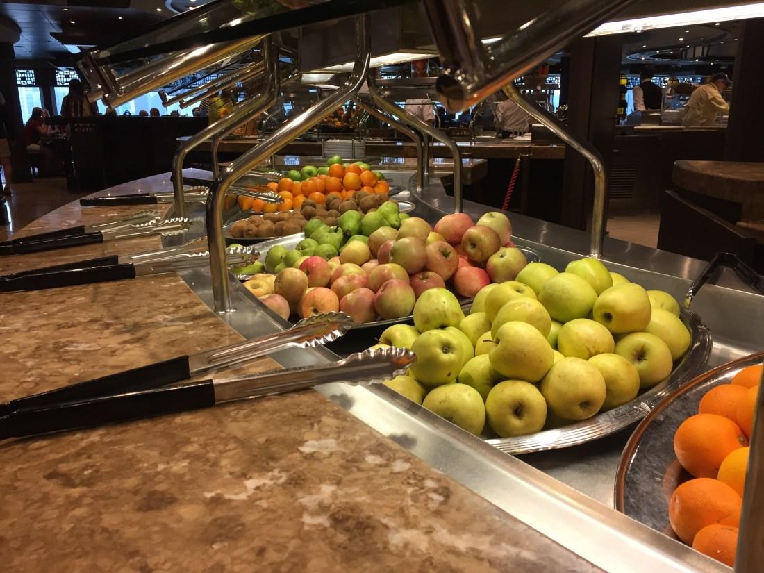 市場のようなフルーツ
