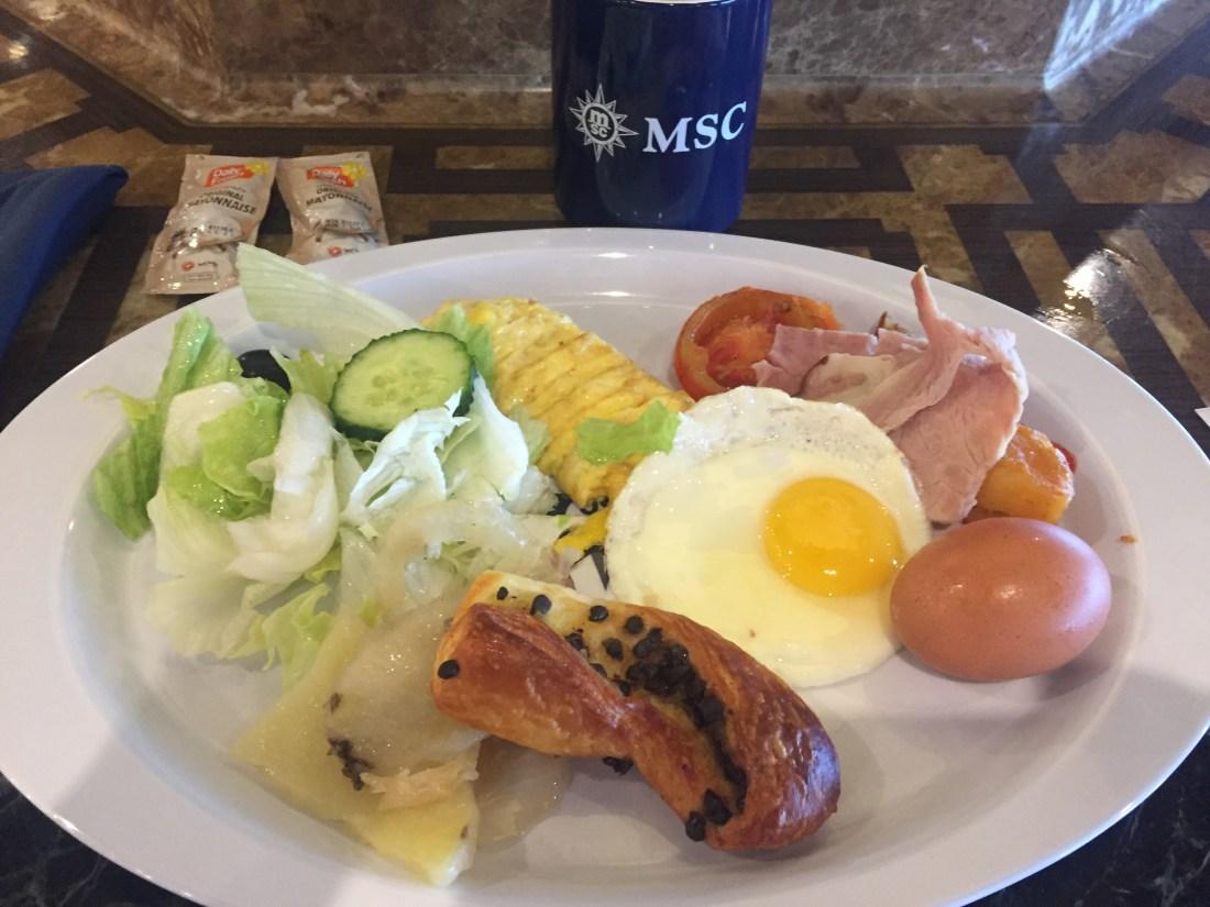 MCSスプレンディダのビュッフェ朝食