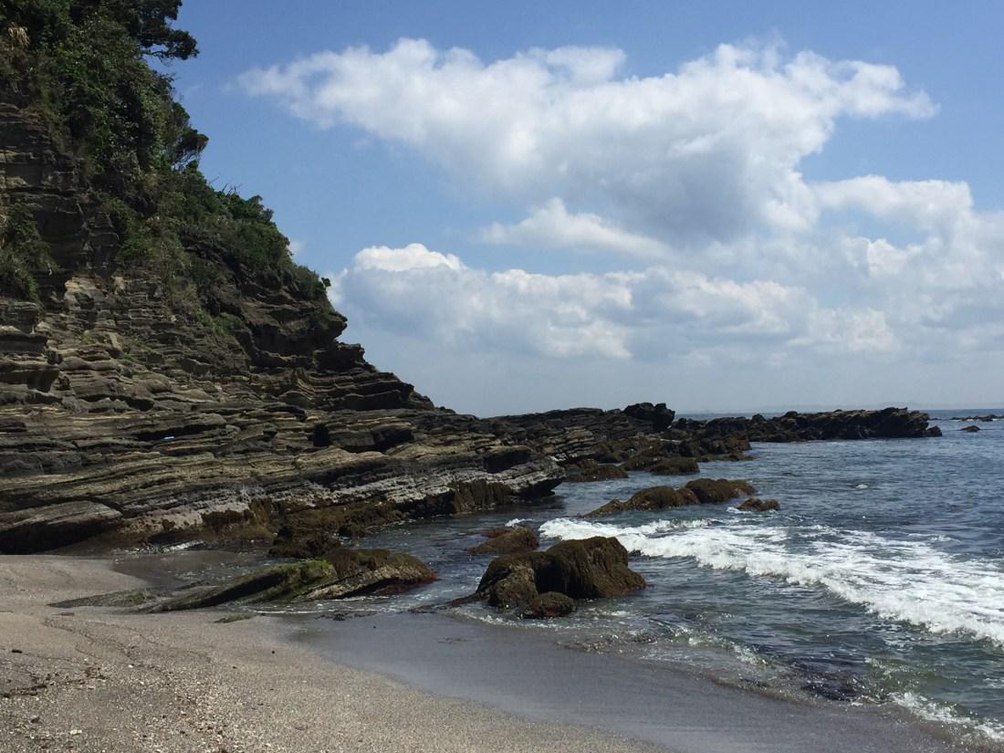 遠津と大浦海岸のはざま