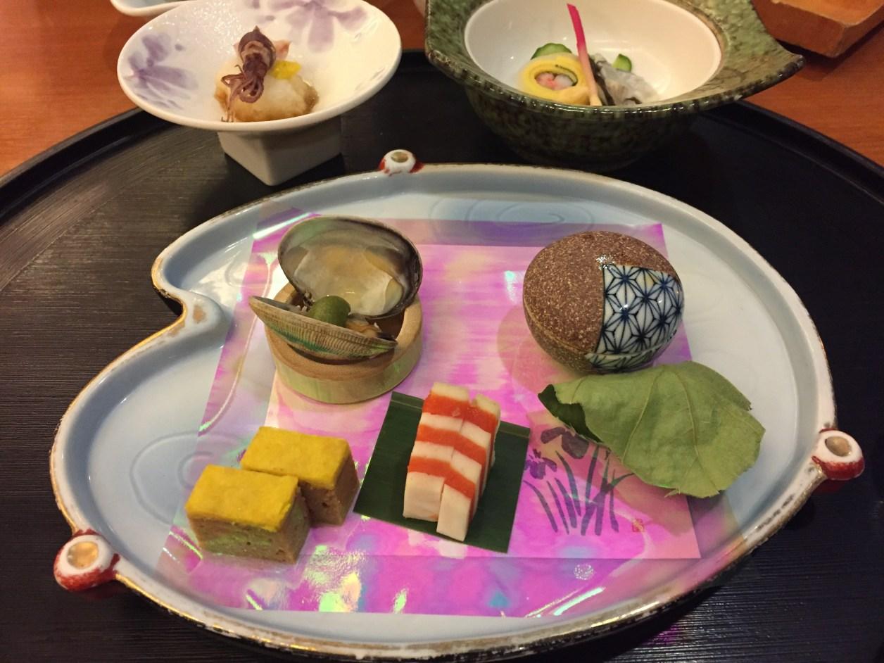 観音温泉の夕食