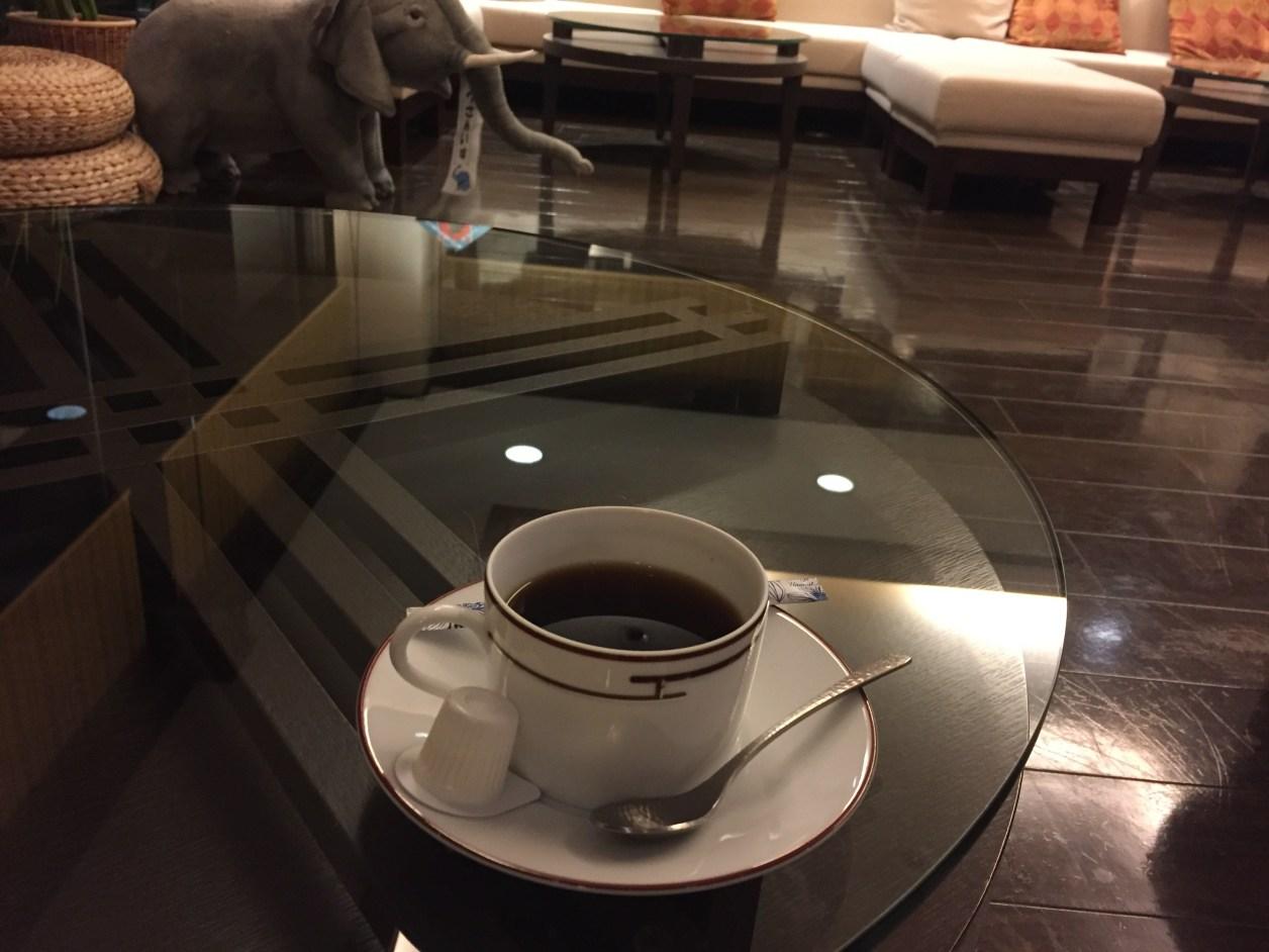 観音温泉のコーヒー
