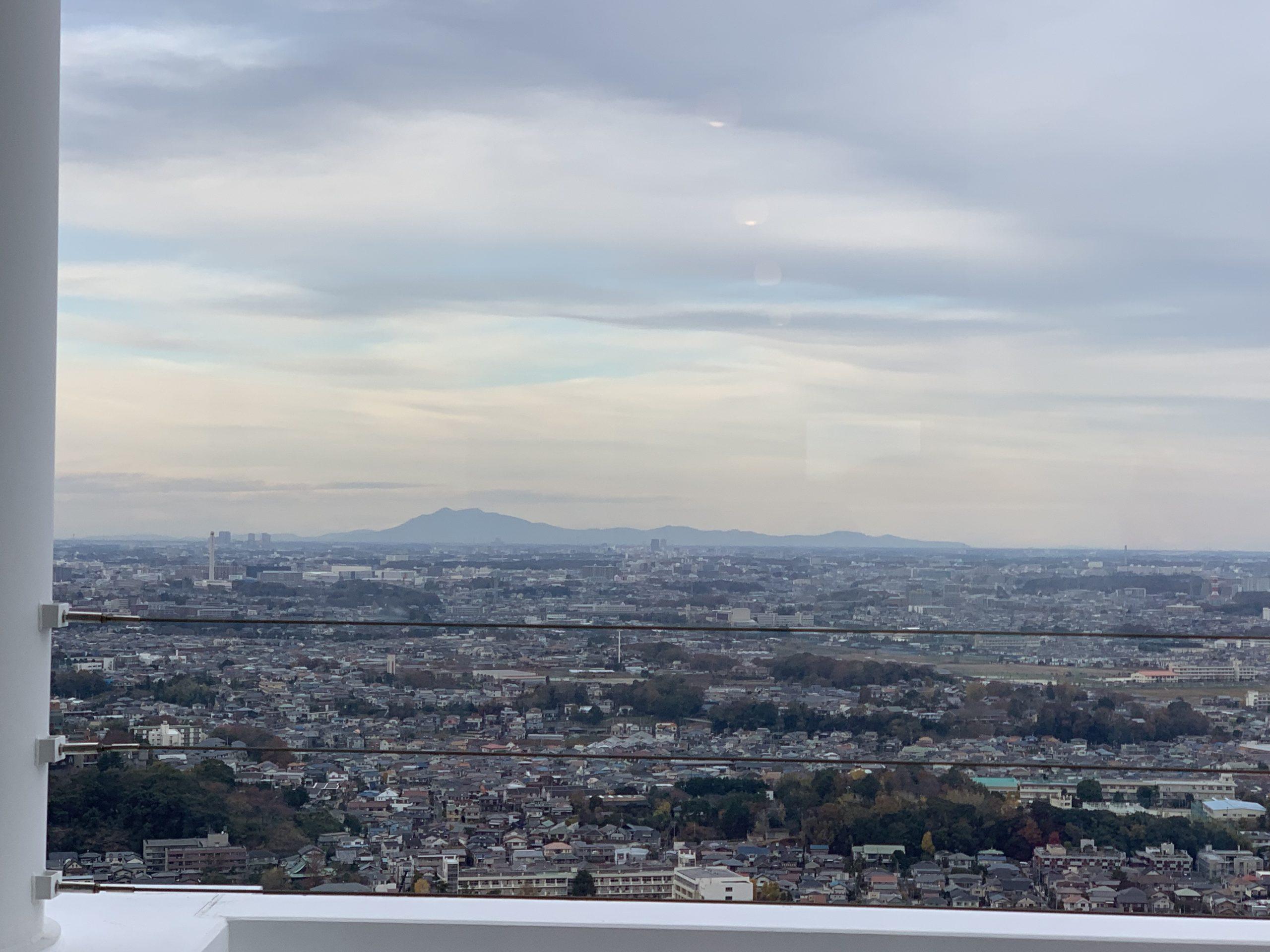 アイ・リンクタウン展望施設からの眺め