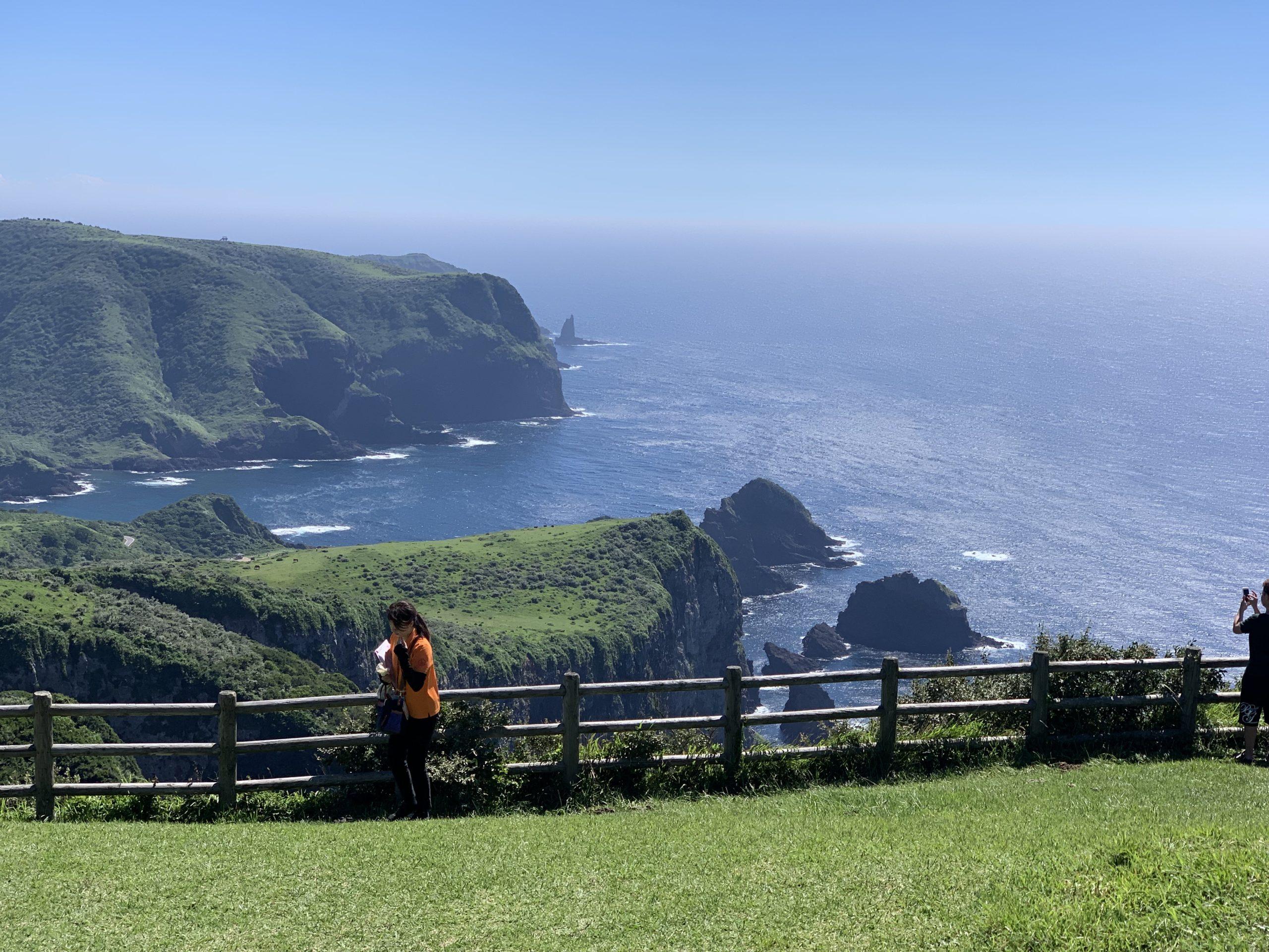 隠岐の島摩天崖から赤尾展望所