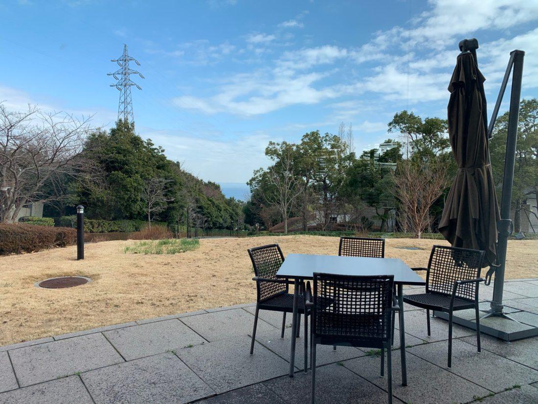 ヒルトン小田原の庭