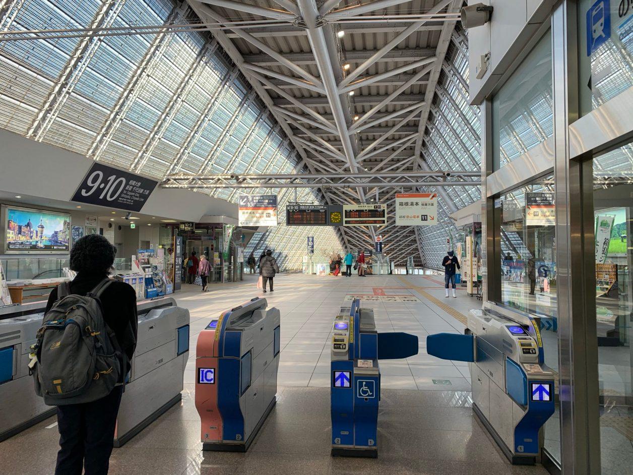 小田急線小田原駅