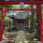 巨石・磐座(いわくら)のある住吉神社