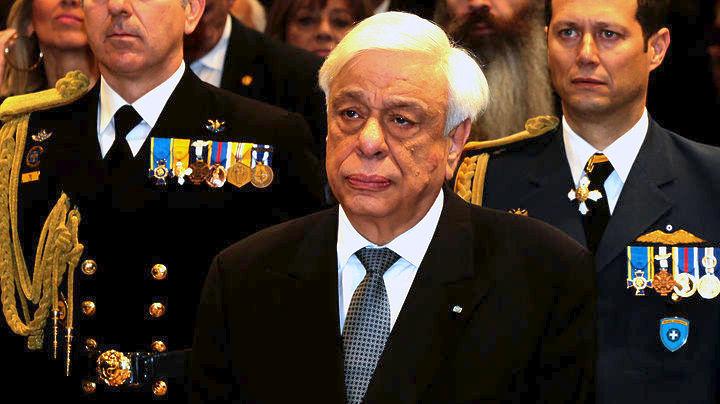 Αποτέλεσμα εικόνας για Παυλόπουλος προεδρικό εύζωνοι