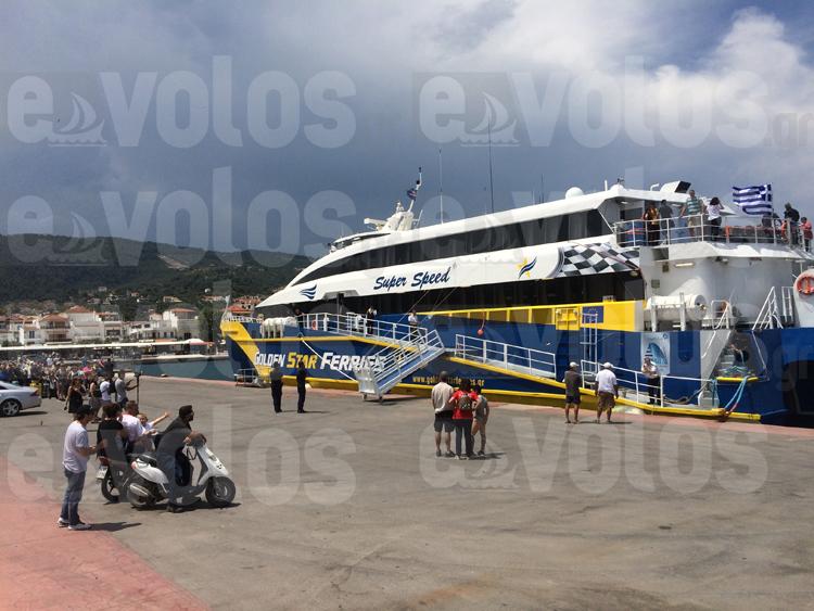 ΒΙΝΤΕΟ: Το SuperSpeed άνοιξε τη γραμμή Θεσσαλονίκη - Β. Σποράδες - Ξεκίνησε μια νέα εποχή