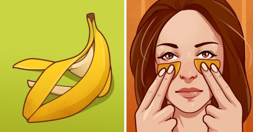 Tρόποι να χρησιμοποιήσετε τη φλούδα της μπανάνας