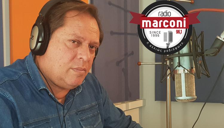 """""""Γαλάτης Speaking"""" στο Marconi 96,1 και το Σάββατο για τρεις ολόκληρες ώρες ζωντανά"""