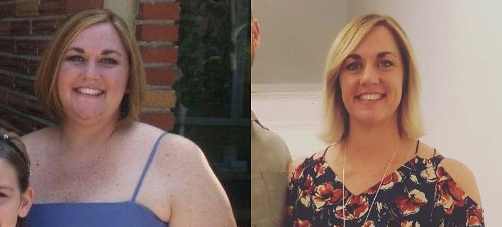 Μητέρα τριών παιδιών έχασε 65 κιλά κόβοντας αυτές τις 3 τροφές -Το πρόγραμμα γυμναστικής που τη βοήθησε