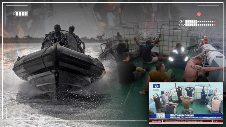 Ντοκουμέντο από τη σύλληψη των Ελλήνων πειρατών στη Νιγηρία