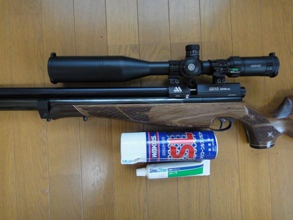 プリチャージ空気銃【メンテナンスの注意点】:Oリングの材質と硬さ