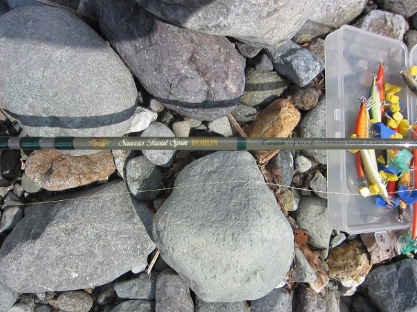 渓流・源流釣り【印象に残ったタックル】:『ザウルスの渓流用バルサ製ミノープラグ(ルアー)【ブラウニー】』:2020-1