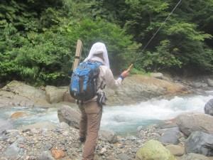 渓流・源流釣り:【イヨシロオビアブ(オロ・オロロ)対策とテンカラ釣行】:2020年夏