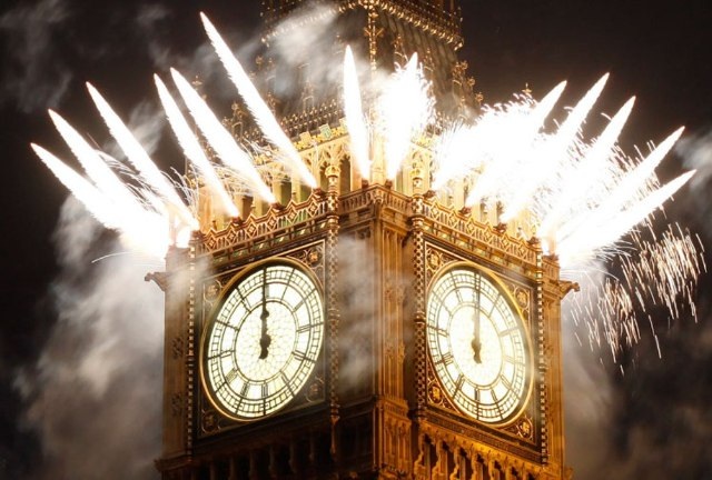 Нова Година, Лондон, традиции