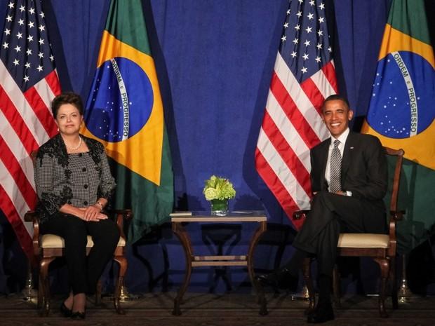 Dilma e Obama (Foto: Roberto Stuckert Filho/Presidência da República)