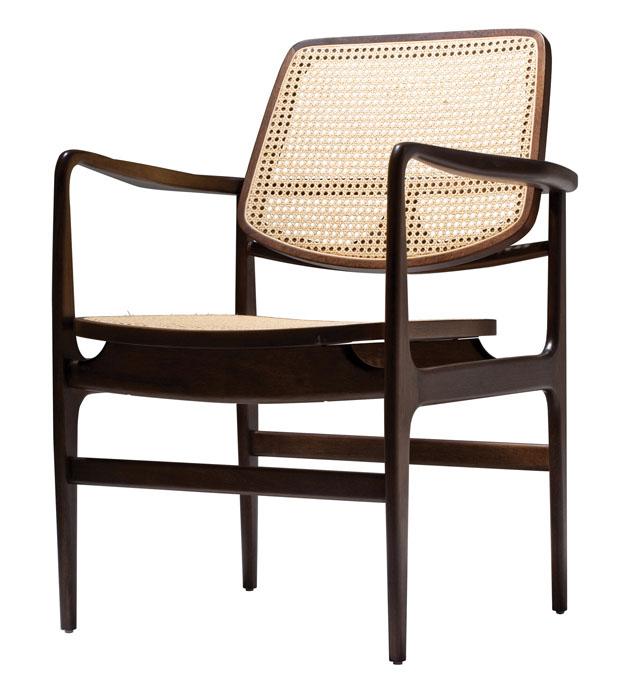 Cadeira Oscar, 1956, de Sergio Rodrigues (Foto: divulgação)