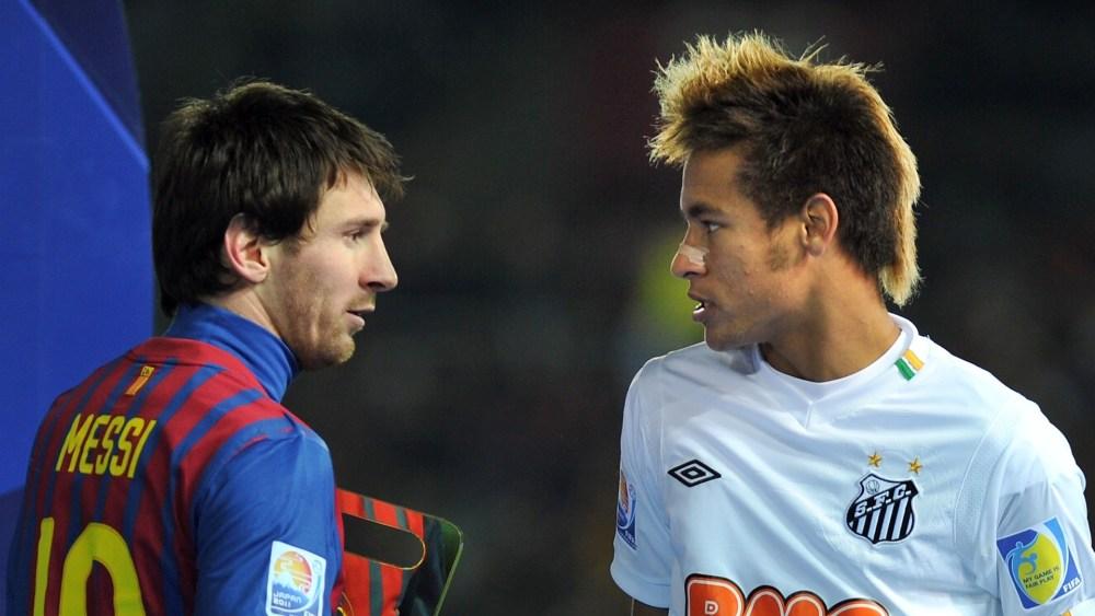 Neymar e Messi (2/2)
