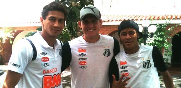 Neymar Ganso e Rafael foram convocados para defender a seleção em amistosos