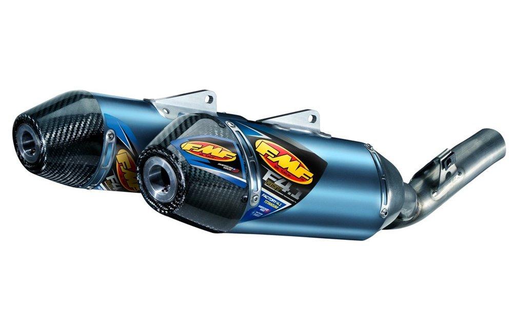 899 99 fmf factory 4 1 rct dual slip on muffler w carbon 220914
