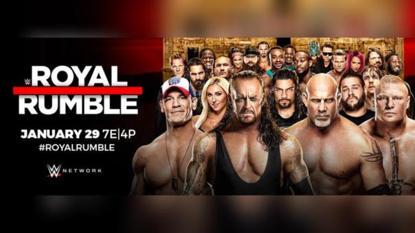 Así promocionan el próximo Royal Rumble en las redes sociales.