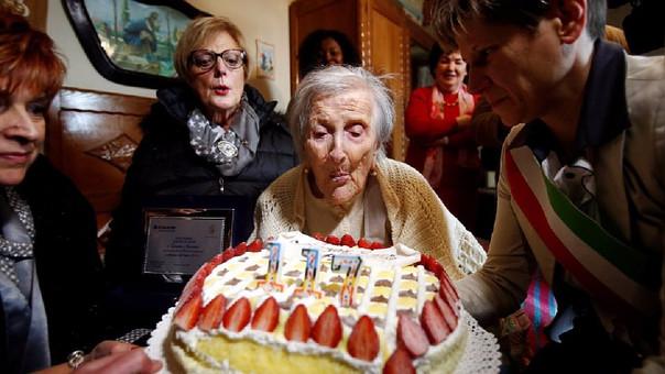 Emma Morano era conocida como la persona más longeva hasta su muerte ocurrida este sábado.