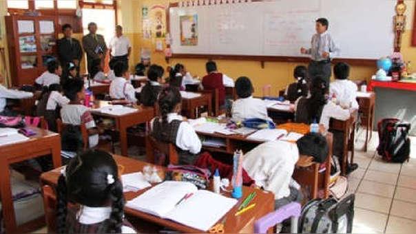 En el 2016 se aprobó el Currículo Nacional de Educación Básica