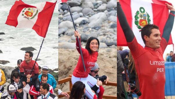 Tres medallas de oro nos dio el surf en los Juegos Panamericanos Lima 2019