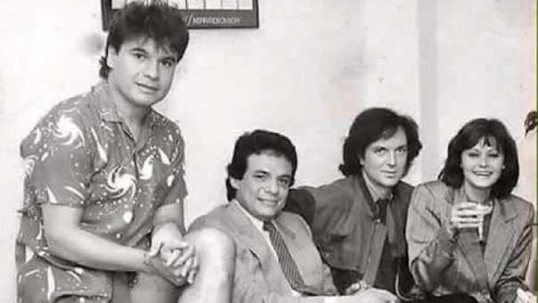 Camilo Sesto: La historia detrás de su foto viral junto a Juan Gabriel, Rocío Durcal y José José