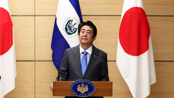 Primer ministro japonés Shinzo Abe.