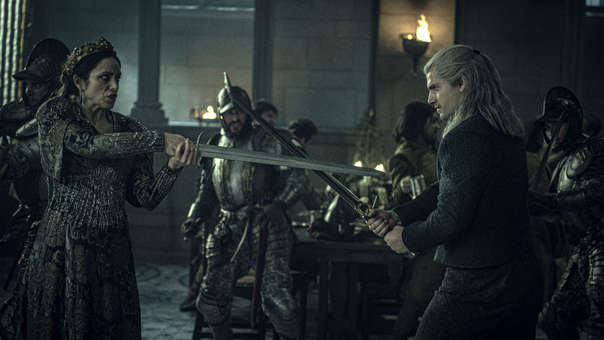 "Qué puntaje obtuvo ""The Witcher"" entre las series de Netflix con ..."