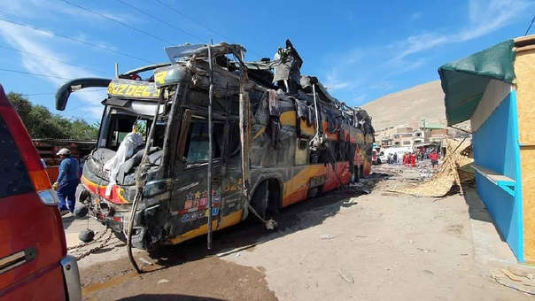 ACCIDENTE BUS AREQUIPA